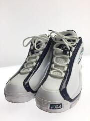 ハイカットスニーカー/28cm/WHT/ホワイト/白