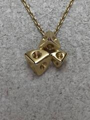 ネックレス/--/GLD/トップ有/ゴールド/三角/サイコロ