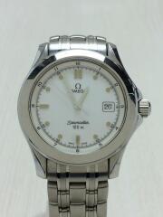 OMEGA/オメガ/クォーツ腕時計/アナログ/ステンレス/WHT/SLV/2511.20/シーマスター120////SEAMASTER///