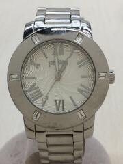WF1A005BP/クォーツ腕時計/アナログ/ステンレス/WHT