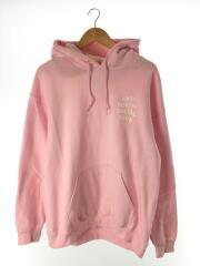 パーカー/L/コットン/PNK/logo hoodie