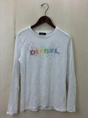 T-SILY-LS-A/00S49J00CZJ/長袖Tシャツ/M/コットン/WHT