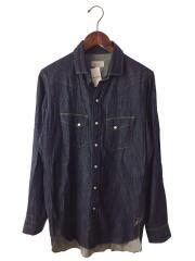 ウエスタンシャツ/closet 04. ver.1/長袖シャツ/0/コットン/NVY/無地/ネイビー/紺/