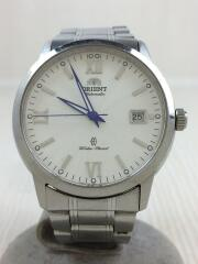 自動巻腕時計/アナログ/ステンレス/WHT/SLV/ER1T-C0-B