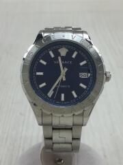 Hellenyium/自動巻腕時計/アナログ/ステンレス/NVY/SLV/VS-VZI030017/