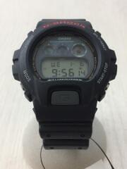 クォーツ腕時計/DW-6900/G-shock/デジタル/曜日/日付/ブラック/電池式/