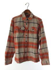 ネルシャツ/XS/コットン/GRY/グレー/STY54130