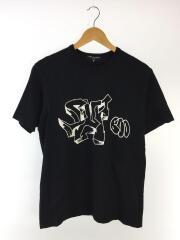 2019awプリントTシャツ/M/コットン/BLK/HD-T012