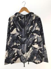 Palm Leaf Print Shirt/パーカー/46/コットン/GRY/G9HG4/タグ付き