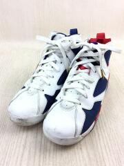 エア ジョーダン 7 レトロ GS オリンピック/ホワイト×ブルー×レッド/304774-123/24cm