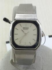 セイコー/3421-527B/アナログクォーツ腕時計/ステンレス/SLV