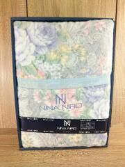 NINA NIRO/寝具/ブルー/毛布/N-6000