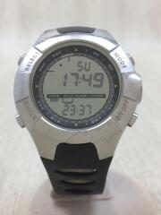 スント/アナログイデジタル腕時計/BLK/BLK