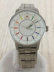 自動巻腕時計/アナログ/ステンレス/ホワイト/WHITE RAINBOW/NB00-Q0-B