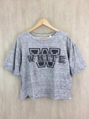 ロゴプリントTシャツ/0/コットン/グレー/WM1571503
