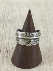フェザーリング/DIAMOND FEATHER RING/SILVER/9号/J-NS388