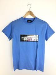 S/S TEE TRAIN VICE/Tシャツ/S/コットン/ブルー/101208011008