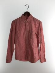 13ss/Diamond Shirt/長袖シャツ/ピンク/使用感有