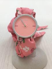 TONI ROSA QUARZO/リボンベルトウォッチ/クォーツ腕時計/アナログ/ピンク/00959727