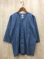 半袖シャツ/L/コットン/インディゴ/KST23-100/×BEAMS JAPAN/2020AW