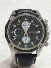 MEGIR/クォーツ腕時計/アナログ/--/ブラック/