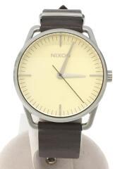 クォーツ腕時計/アナログ/--/クリーム/ブラウン/THEMELLR