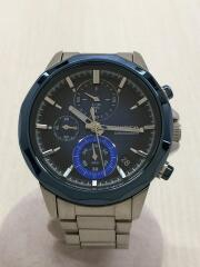 クォーツ腕時計/アナログ/ステンレス/BLU/SLV/VD57-KY20/632955