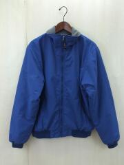 ナイロンジャケット/ウォームアップジャケット/205107/S/ナイロン/BLU