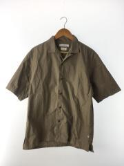 FTPFOODTEXTILE/オープンカラー/開襟/半袖シャツ/L/コットン/BEG