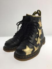Dr.Martens/レースアップブーツ/UK4/BLK