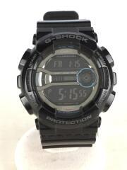 クォーツ腕時計/デジタル/ラバー/SLV/BLK/GD-110/G-SHOCK/ジーショック