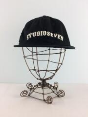 5 Panel Baseball Cap/キャップ/FREE/コットン/BLK