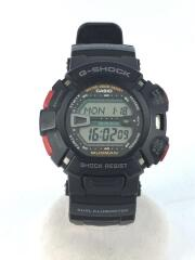 CASIO/G-9000/クォーツ腕時計/デジタル/ラバー/BLK