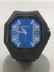クォーツ腕時計/7N42-0FB0/アナログ/ステンレス/NVY/BLK