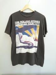 Tシャツ/--/--/BLK/AMERICAN TOUR 1972// ローリングストーンズ プリント
