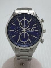 クォーツ腕時計/アナログ/ステンレス/BLU/SLV/7T92-0SM0
