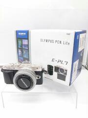 デジタル一眼カメラ/ミラーレス/OLYMPUS PEN Lite E-PL7 EZダブルズームキット