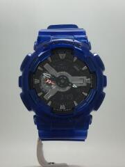 クォーツ腕時計・G-SHOCK/デジタル/ラバー/BLK/BLU