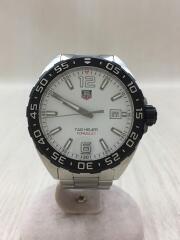 クォーツ腕時計・フォーミュラ1ウォッチ/アナログ/ステンレス/WHT/SLV/ダイバーズ FORMULA1