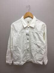 1ST TYPE/デニムジャケット/長袖シャツ/2/コットン/WHT/ホワイト/白