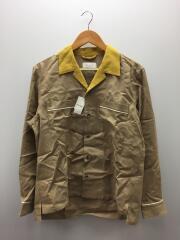 TAUPE/トープ/オープンカラーシャツ/長袖シャツ/1/レーヨン/TPM20104001