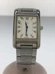 クォーツ腕時計/6.543.396/アナログ/ステンレス/WHT/SLV