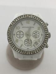 クォーツ腕時計/アナログ/--/WHT/MK-5188/クロノグラフ