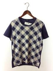 Tシャツ/3/コットン/PUP/チェック