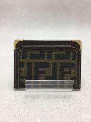 ズッカ柄カードケース/--/BRW