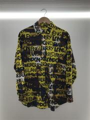 2019AW/Graffiti Shirt/8001465/長袖シャツ/コットン/マルチカラー/総柄/グラフィティ