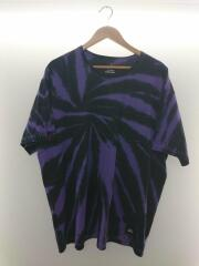 Tシャツ/XL/コットン/パープル/タイダイ柄/201PCGMNCSM01S