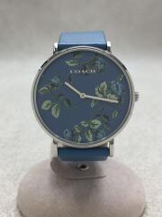 腕時計/アナログ/レザー/ブルー/ブルー/CA.120.7.14.1690