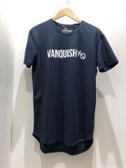 Tシャツ/M/コットン/NVY/プリント