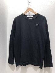長袖Tシャツ/XXL/コットン/BLK/AZ-T120/中古